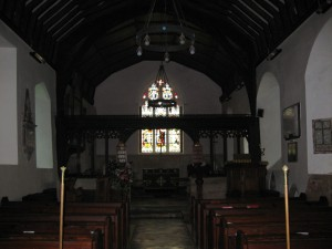 Withington - Herefordshire - St. Peter - interior