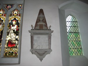 Withington - Herefordshire - St. Peter - memorial plaque 3