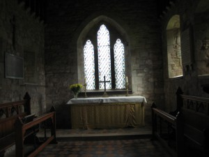 Wormsley - Herefordshire - St. Mary - interior 2