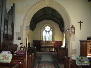 Yarkhill - Herefordshire - St. John the Baptist - interior